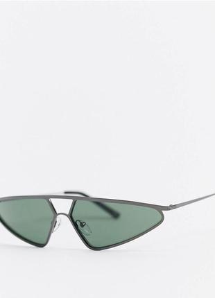 Солнцезащитные очки в металлической оправеasos
