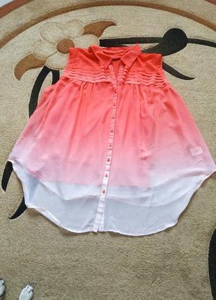 Блузка великого розміру 30-32