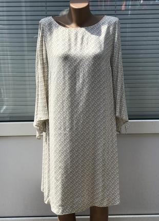 Легкое свободное платье вискоза