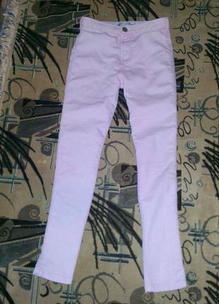 Узкие джинсы denim co 9-10 лет рост 140 см