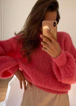 Мягкий оверсайз свитер ❤️