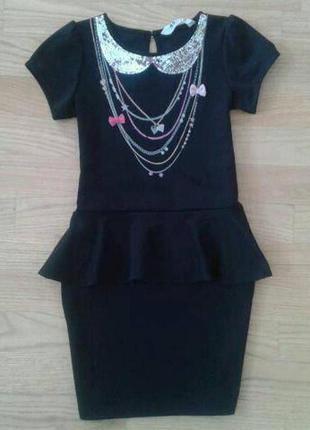Очень красивое платье для девочки h&m.