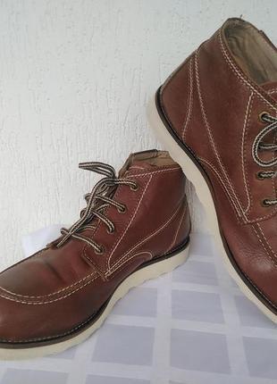Кожанние,демисезонние ботинки dickies р.43-43.5