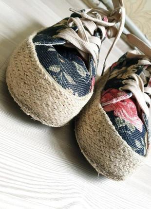 Текстильные кеды