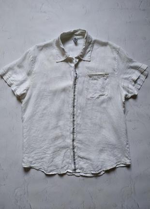 Рубашка с коротким рукавом шведка dirk bikkembergs