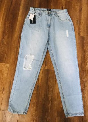 Новые джинсы бренда prettylittlething