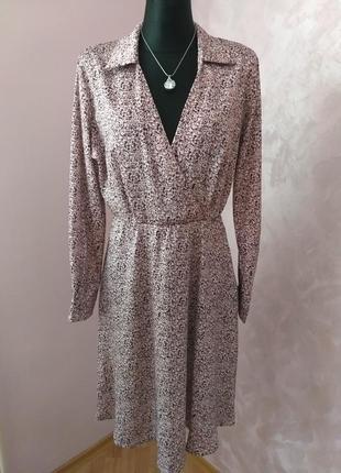 Розкішний комплект сукня+блуза/италия/м,л