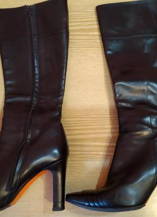 Сапоги кожаные итальянские vero cuoio размер 38
