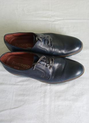 Шкіряні туфлі portobello
