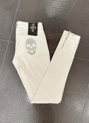 Летние джинсы оригинал philipp plein, размер s