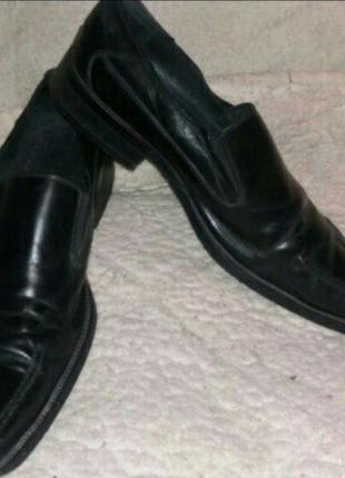 Мужские кожаные туфли р. 42