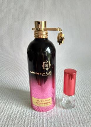 Оригинал!montale 5 мл, intense roses musk