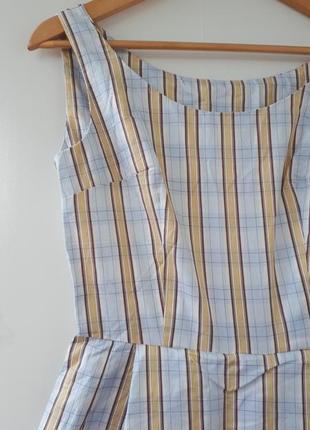 Под винтаж коттон платье мега клеш.06