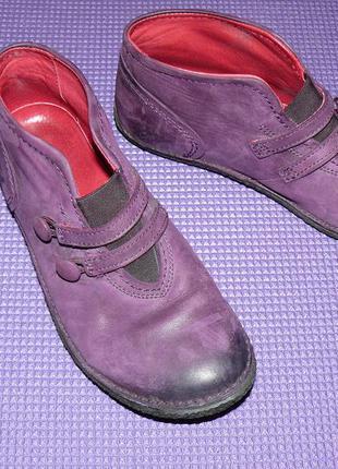 Кожанные ботиночки, демисезонные ботинки kickers