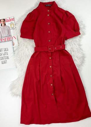 Платье  миди с пряжкой  shein❤️