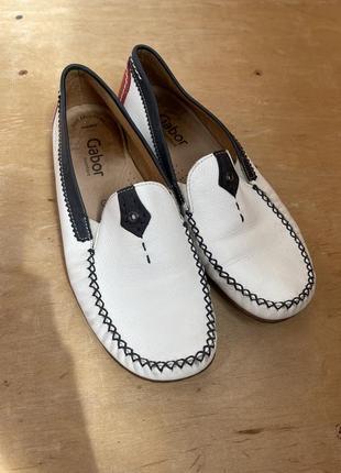 Gabor кожаные крутые туфельки