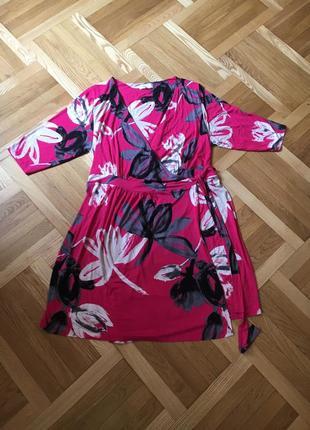 Батал большой размер легкое летнее натуральное платье платьице плаття сукня