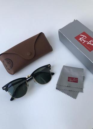 Ray ban clubmaster очки солнцезащитные