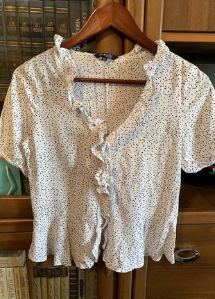 Летняя рубашка с рюшами topsecret.
