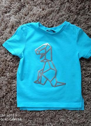 Стильна футболка з динозавром