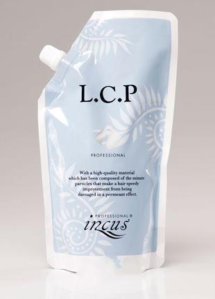Лечащая маска для волос с эффектом ламинирования incus lcp professional pack