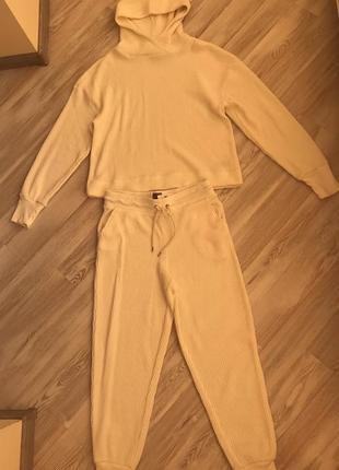 Спортивный костюм gap s/m вафельный худи