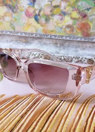 Эксклюзивные прозрачно нюдовые брендовые солнцезащитные женские очки 2021