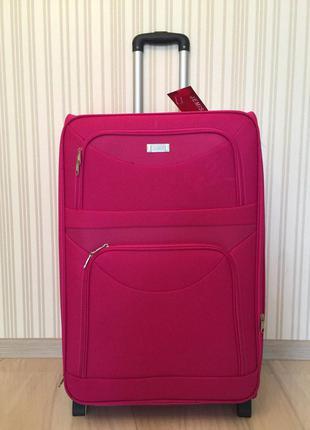 Большой чемодан польша 75 см валіза на колесах сумка хит 2017