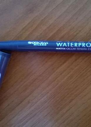 Контурный карандаш для глаз deborah водостойкий