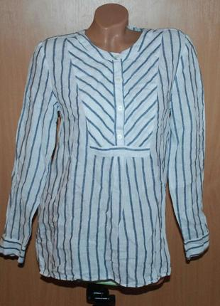 Блуза бренда gap / 100% лен / свободный покрой /