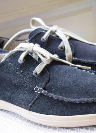 Замшевые туфли мокасины слипоны camel active р.45.5 30 см