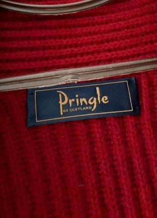 Шерстяной кардиган pringle of scotland оригинал5 фото