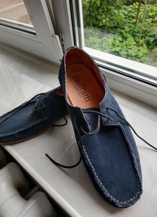 Туфлі замшеві літні
