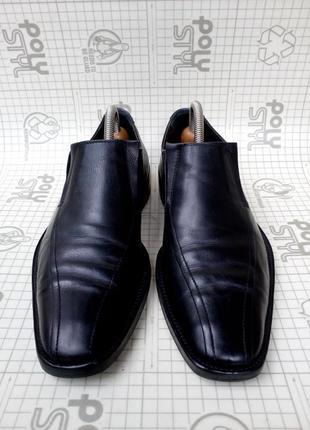 Туфли кожа италия размер 42/7,5 стелька 27,5