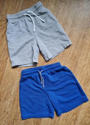 Фирменные трикотажные шорты george на мальчика 3-4года