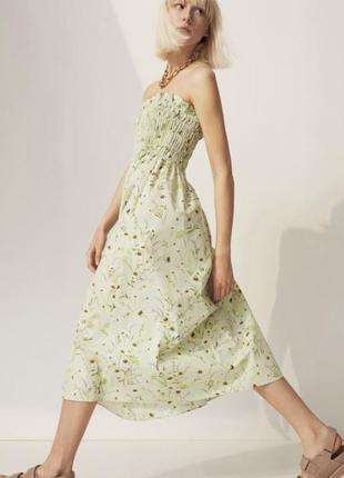 Платье из поплина из эксклюзивной новой коллекции h&m