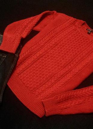 Идеальный красный свитер mango 🌹