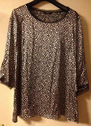 Шелковая блуза с поясом persona