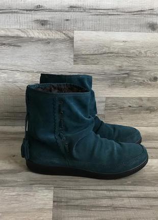 Сапоги ботинки из натуральной кожи