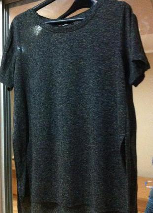 Удлиненная футболка bershka