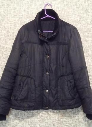 Теплая куртка р.16 продажа-обмен