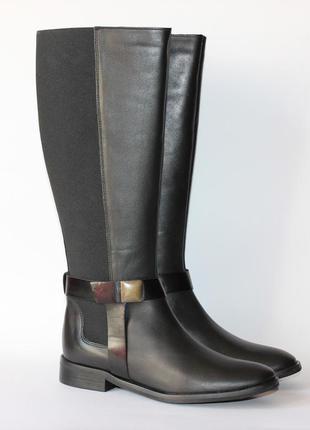 Демисезонные сапоги европейского бренда riarosa, натур. кожа. 37,40 размер