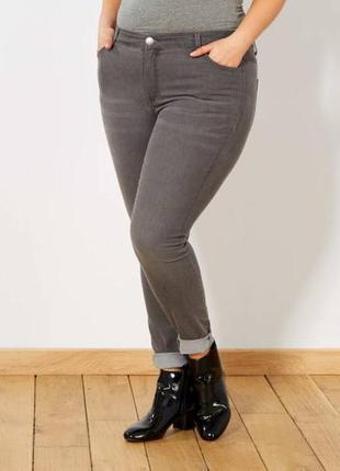 Стрейчевые женские джинсы скинни узкачи большой размер батал.