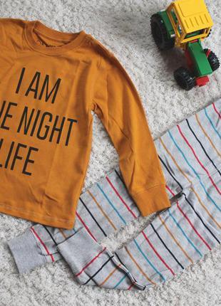 Пижама (пижамы) next на 3-4 года (98-104см) новые!