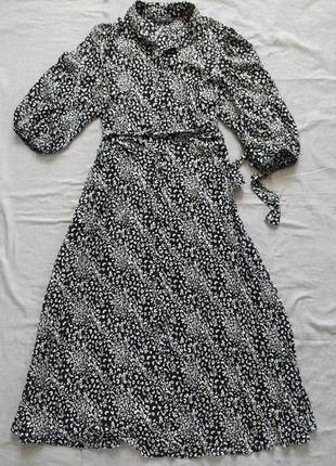 Платье рубашка плаття сорочка f&f обємні рукави