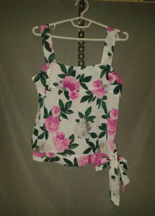 Яркий летний топ майка блузка