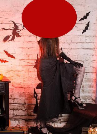 """Длинная юбка фасон """"рыбка""""– наряд на хэллоуин и не только"""