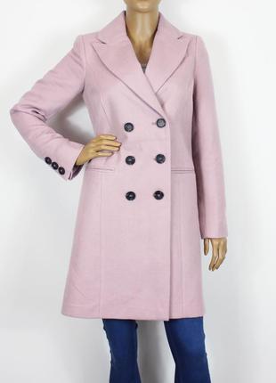 Новое пальто лилового цвета asos