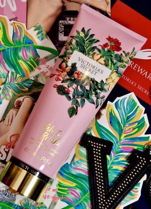Ароматный лосьон для тела *wild flora*, викториас сикрет, victoria's secret, velvet petals