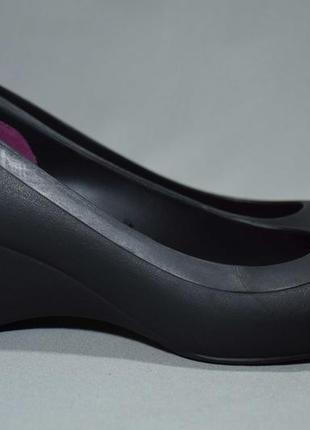 Crocs lina wedge балетки лодочки сандалии босоножки кроксы женские. оригинал. 38-39 р./25 см.